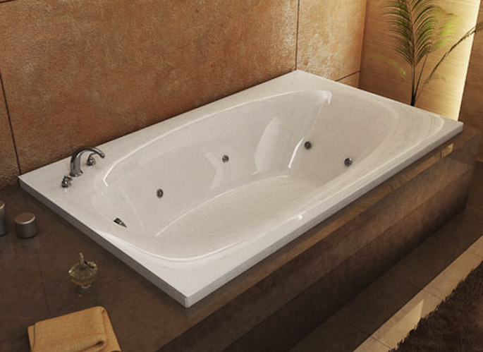 atlantis whirlpools - jetted bathtubs - polaris series collection